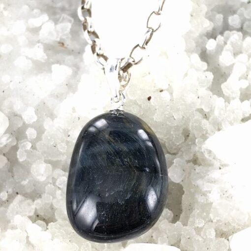 Blue Tiger Eyel | Pendant | Sacred Earth Crystals | Wholesale Crystal Shop | Brisbane | Australia