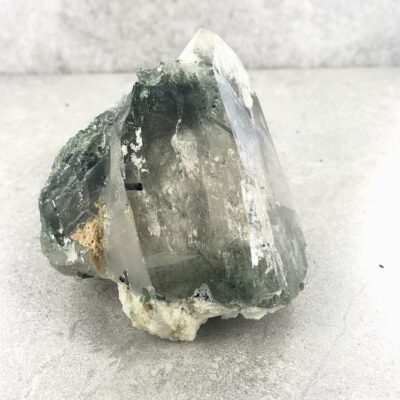 Green Tourmaline in Quartz | Specimen | Sacred Earth Crystals | Wholesale Crystal Shop | Brisbane | Australia