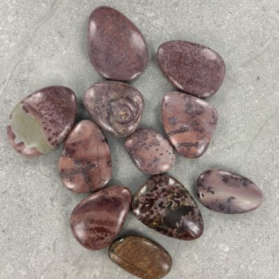 Red Dendritic Jasper | Smooth Stone | Sacred Earth Crystals | Wholesale Crystal Shop | Brisbane | Australia