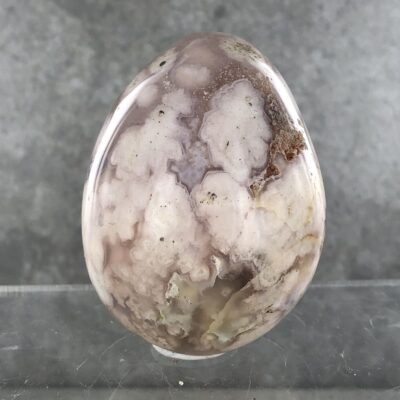 Cherry Blossom Agate | Egg | Sacred Earth Crystals | Wholesale Crystal Shop | Brisbane | Australia