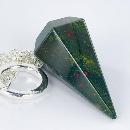 Bloodstone   Pendulum   Sacred Earth Crystals   Wholesale Crystals   Brisbane   Australia