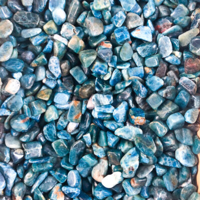 Blue Apatite | Chips | Sacred Earth Crystals | Wholesale Crystal Shop | Brisbane | Australia