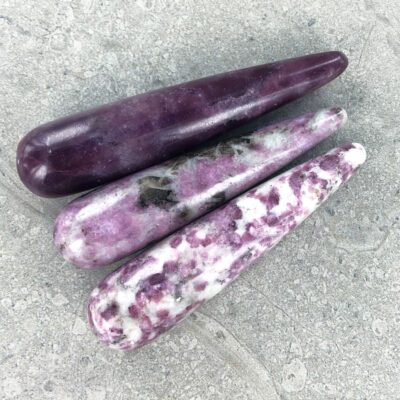 Lepidolite | Massage Wand | Sacred Earth Crystals | Wholesale Crystal Shop | Brisbane | Australia