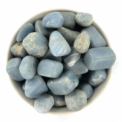 Angelite | Tumble | Sacred Earth Crystals | Wholesale Crystals | Brisbane | Australia