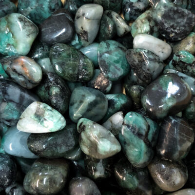 Emerald | Tumbles | Sacred Earth Crystals | Wholesale Crystals | Brisbane | Australia