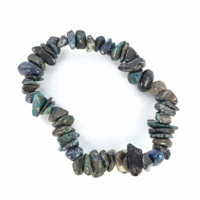 Chrysocolla   Chip Bracelet   Sacred Earth Crystals   Wholesale Crystals   Brisbane   Australia