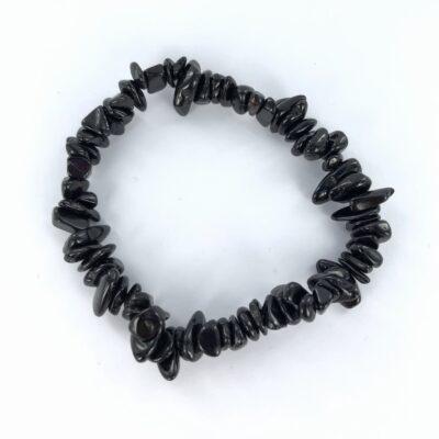 BlackTourmaline | Chip Bracelet | Sacred Earth Crystals | Wholesale Crystals | Brisbane | Australia