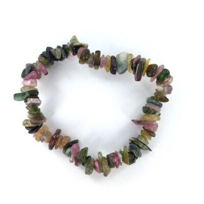 Mixed Tourmaline   Chip Bracelet   Sacred Earth Crystals   Wholesale Crystals   Brisbane   Australia