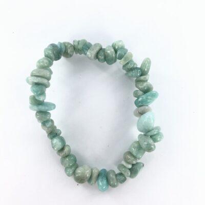 Amazonite | Chip Bracelet | Sacred Earth Crystals | Wholesale Crystals | Brisbane | Australia