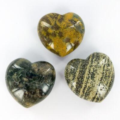Ocean Jasper | Heart Bracelet | Sacred Earth Crystals | Wholesale Crystals | Brisbane | Australia