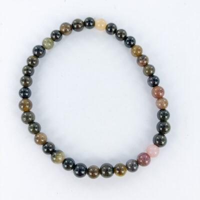 Mixed Tourmaline   6mm Bracelet   Sacred Earth Crystals   Wholesale Crystals   Brisbane   Australia