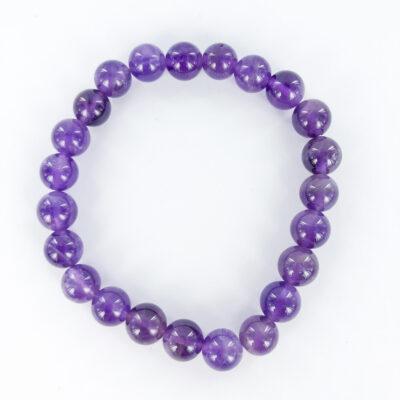 Amethyst | 8mm Bracelet | Sacred Earth Crystals | Wholesale Crystals | Brisbane | Australia