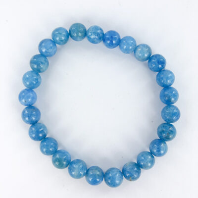 Blue Apatite | 8mm Bracelet | Sacred Earth Crystals | Wholesale Crystals | Brisbane | Australia