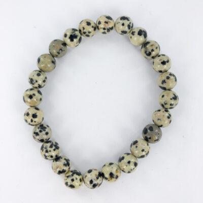 Dalmatian Jasper | 8mm Bracelet | Sacred Earth Crystals | Wholesale Crystals | Brisbane | Australia