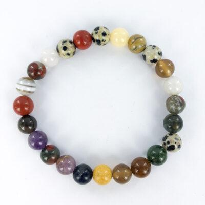 Mixed Stone   8mm Bracelet   Sacred Earth Crystals   Wholesale Crystals   Brisbane   Australia