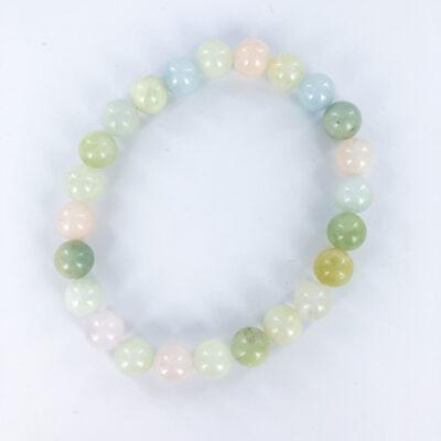 Mixed Beryl   8mm Bracelet   Sacred Earth Crystals   Wholesale Crystals   Brisbane   Australia
