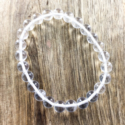 Clear Quartz | 8mm Bracelet | Sacred Earth Crystals | Wholesale Crystals | Brisbane | Australia