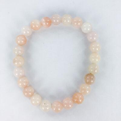 Morganite   8mm Bracelet   Sacred Earth Crystals   Wholesale Crystals   Brisbane   Australia