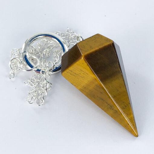 Golden Tigers Eye | Pendulum | Sacred Earth Crystals | Wholesale Crystals | Brisbane | Australia